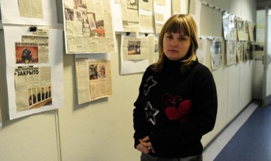 Elena Milashina, Novaya Gazeta who first shed light to the situation